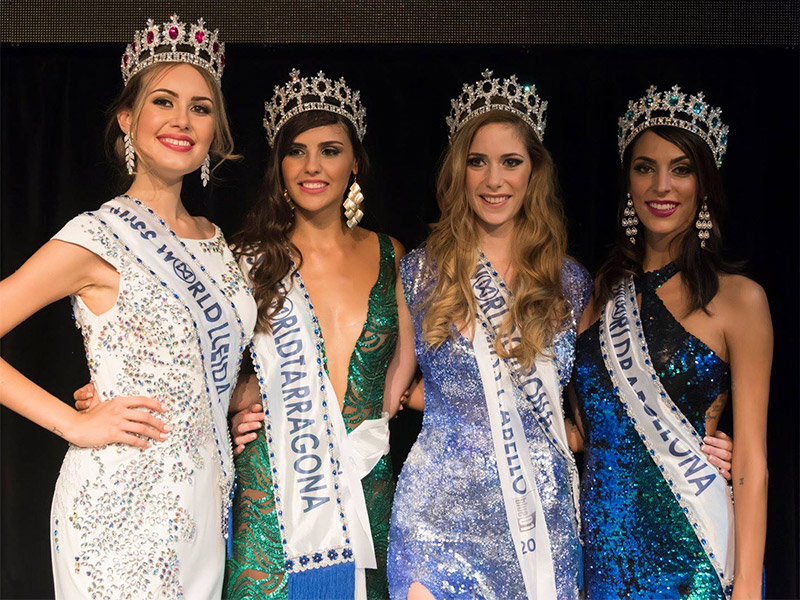 Miss World Cataluña finalistas 2018