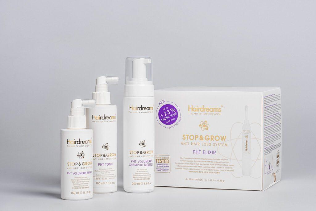 Producto anticaida Stop & Grow de Hairdream's